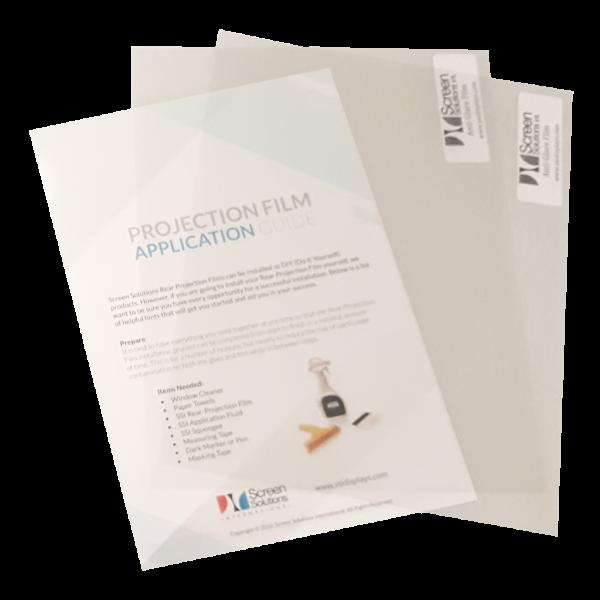 anti glare film samples