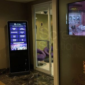 indoor touch kiosks