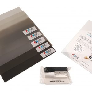 rear projection film sample packs