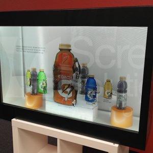 through-view transparent lcd display
