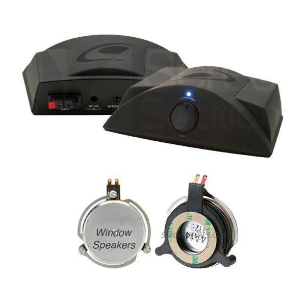 window speakers tech accessory